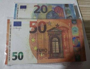 EUROS Fake Money Prop Money Paper 10 20 50 100 200 500 евро Биллс цены Бизнес поддельные бумажные деньги для коллекции 011