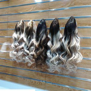 Balayage Cheveux Perruques Dentelle Frontière Human Custom Wigs Perruques de soie Top Naturel HairLine Naturel Wavy Naturel 130% 150% 180% Densité