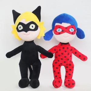 Hot Sale Cute Anime Ladybug Joaninha Girls And Mask Super Cat Doll High Quality Plush Toy Children Gift