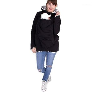 Women Hoodies Thicken Maternity Carrier Jackets Coat Cusual Sweatshirt 2020 Winter Coat Women Pregnant Clothes Hooded Pullover1