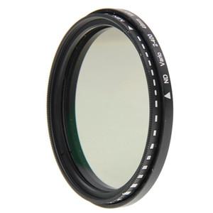 105mm ND Fader Nötr Yoğunluk Ayarlanabilir Değişken Filtre ND2 ila ND400 Filtresi