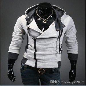 Creed Sale Männer Größe Sweatshirt Hoodie Assassins Design Großhandel-Hot Reißverschluss Männer Trainingsanzug M-6XL Marke TwMKT