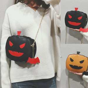 Women Girl Halloween Pumpkin Demon Shoulder Bags Cross Body Messenger Bag Purse Tote Satchel Handbag