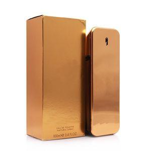 Trendy 1 Mio. 100 ml Intensive Duft für Männer Parfüm Hohe Qualität und dauerhafte lange Zeit Spray Kostenloser Versand