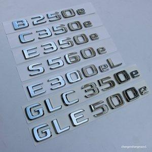 NOUVEAU POUR MERCEDES BENZ B250E C350E E350E S560E E300ELL GLC350E GLC350E Badge arrière Boad Emblem Logo C-Classe W205 S205