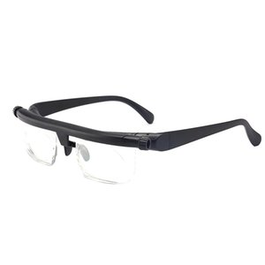 Tr90 Focal Length Adjustment Reading Glasses Can Be Adjusted -6D To +3D Degrees Myopia Reading Glasses Hot