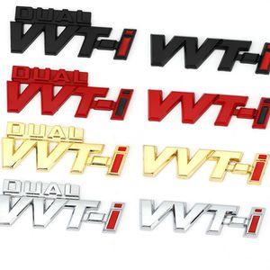 Autocollant autocollant emblème badge décalcomanies pour TOYOTA Dual VVT-I VVTI Camry Corolla Yaris Rav4 RAV4 RALINK REZ Crown Prius REZ AURIS AVENSIS