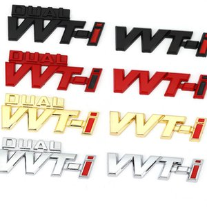 Autoadesivo per auto Emblema Distintivo Decalcomanie per Toyota Dual Vvt-i VVTI Camry Corolla Yaris RAV4 RALINK REZ CROWN PRIUS REIZ AURIS AVENSIS