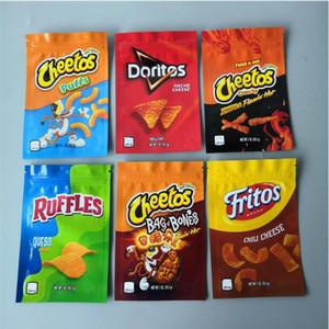 Neue Ankunft 600mg Cheetos Maylar Bag Doritos Käse Gummi Wurm Cheetos Tasche von Knochen Rüschen Errlli Verpackung Taschen Mylar Taschen Edibles Packagin