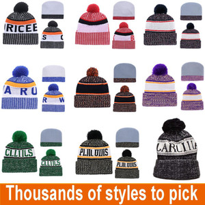 Designer Winter Hat Team Beanie Knitted Designer Hat All Sport Teams Baseball Football Basketball Beanies Hats Cap Can Mix Orders BWE3269