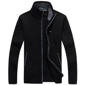 Men's Sweater Turtleneck Zipper Eden Pure-Colour Clothes Pullover Male Park M-3XL Plus Size Autumn Winter Pull Homme