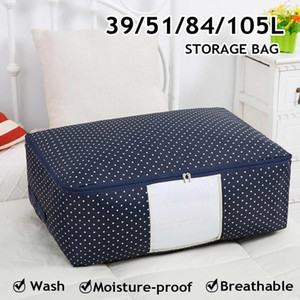 Waterproof Storage Bags Luggage Organizer For Blankets Clothes Packing Washable Travel Home Quilt Pouch Finishing Dust Bag