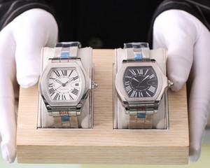 2020 high quality classic roadster de men watches santos joker 2824 movement wristwatches tank mens watch D4010