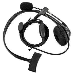 2 핀 헤드폰 헤드셋 Jianwu Baofeng UV-5R BF-888S Retevis H777 Puxing Tyt Interphone C9009