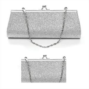 Hot Women Glitter Clutch Purse Evening Party Wedding Banquet Handbag Shoulder Bag Drop Shipping Good Quality