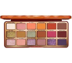 #2555NEW ARRIVAL 18 Colors Eyeshadow Palette TO FAC Orange Pumpkin Color Eyeshadow 2020 Christmas Limited High Color Rendering Makeup