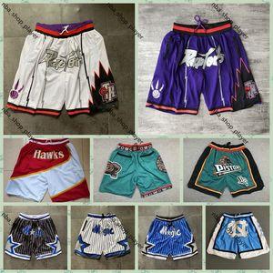 Мужские просто Дона Карманы Баскетбольные шорты Ретро Сшитые NCAA Blue White North Carolina Carolina Карманные Шорты Стрижка Спортивные Спортивные Карманные Спортивные штаны