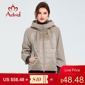 Astrid 2020 manteau de printemps femmes survendriers veste courte parkas décontracté mode femme haute qualité chaude coton zm-8601
