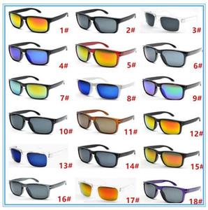 Erkekler Güneş Gözlüğü Renk Gözlük Güneş Gözlüğü Bisiklet Dazzle Spor Aynalar Kare 18 Gözlük Spor Marka Açık Gözlük Riding RCMNM