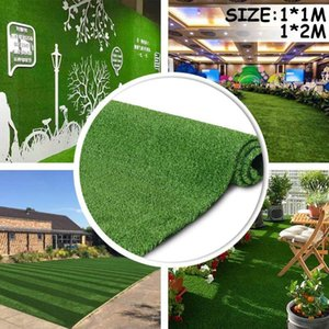 Floor Fake Pvc Grass Mat Artificial Grass Carpet Simulation Moss Turf Lawn Diy Green Plant Micro Landscape Yard Garden Decor