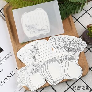 Xinaher 20 Pcs Pack Retro Hand Painted Life Series Mini Message Card Festival Greeting Card Kids Gift School Supplies jllXzg