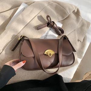 Toposhine Solid Crossbody Bag per donna 2021 Inverno Simple Designer Borse da donna Trend Donne Borsa da donna Borse trasversali