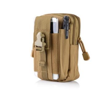 Taşınabilir Telefon Çanta Man Molle Bel Çanta Kemer Asılı Paket Kamuflaj Spor Aksesuarları Yüksek Kalite 7 5JS H1