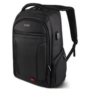 """حقيبة الظهر DTBG 17 """"محمول خارجي USB تهمة الكمبيوتر حقائب الكمبيوتر الأعمال الكبيرة السفر حقائب الكتف مكافحة سرقة حقيبة ماء"""