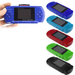 Portable Handheld Game Consoles PVP Station Light 3000 8 Bit 2.7 Inch LCD Screen Handheld Video Game Players Game box PK PXP3 For Kids Gift