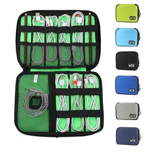متعددة الوظائف إلكترونيات منظم كابل بيانات حقيبة التخزين المحمولة البريدي ماء TRAVE كابل المنظم حقيبة 16colors HHA1678
