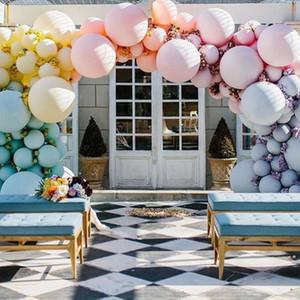 Новый Баллон 36 дюймов Круглый Макарон Воздушный шар Свадебные Украшения Партия Поставки Воздушные шары HHE3395