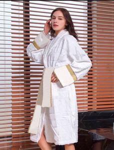 Designer di lusso donne abiti da casa moda uomo accappatoio manica lunga unisex classico sleepwear pigiama Italia casa casa bagno usura rosa da notte rosa