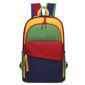 Новый рюкзак для женщин и мужчин Высочайшее качество вместительный Задний план для дам Оксфордские сумки ноутбук для женской упаковки сумка падение