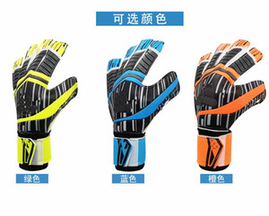 Wholesale-New Professional Goalkeeper Gloves Football Soccer Gloves with Finger protection Goal Keeper Gloves Send Protection