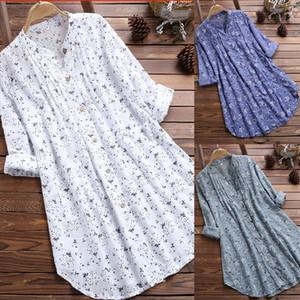 Women Loose Long Sleeve Tunic Tops Casual Blouses Plus Size M 3XL Shirt Summer Elegant Blouse Streetwear Fashion New