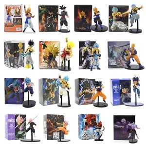 15-32cm Anime DBZ Super Gogeta Gokou Zamasu Jiren Veget a vegetto Broli Broly Gotenks Troncos Android 17 PVC Figuras de acción Toy Q1215