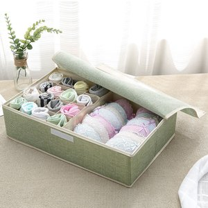 Drawer organizer,Underwear Sock Underpants Home Storage Box,Underwear Non-woven Fabric Organiser Bag,Covered Finishing Box Z1123