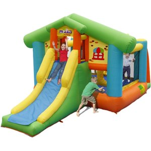 Inflatable Cat Home Bounce House With Slide Combo Garden Supplie Where Can I Buy Inflatables Bounces Houses W  CatHome Design For Kids Indoor Outdoor Games