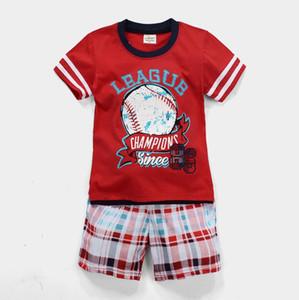 2020 Fashion Summer Boy's Suit Kids Baby Boy Black Clothes T-shirt Top+Pants 2pcs Children Clothing Sets Boys Tracksuit A2