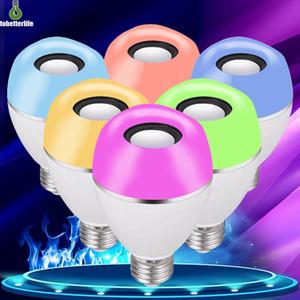 Smart LED RGB Bulb APP Control Music Bluetooth Bulb Synchronization Effect RGB White Warm White Light Bulb