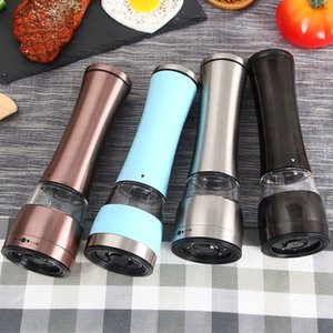 65ml Stainless Steel Pepper Grinder Portable Hand Manual Pepper Muller Seasoning Grinding Milling Mini Cooking kitchen tools