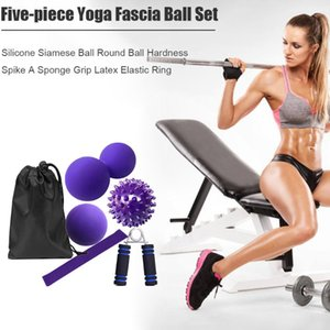Yoga Fitness Roller Muscle Fascia Relax Body Massager Gym Sport Massage Ball for Effective Working-out Accessories