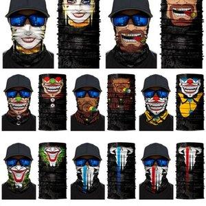 Mascarar máscara dhl balaclavas grátis lenço halloween headband esqueleto rosto crânio mascarada festa máscaras motocicleta ciclismo pesca f
