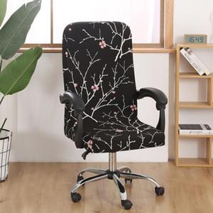 M / L Sandalye Kapakları Baskılı Elastik Sandalye Kapakları -Dirty Dönen Streç Ofis Bilgisayar Masası Koltuk Kapağı Çıkarılabilir