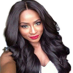 Hot Sale Cheap Brazilian Hair African Curly Wavy Women Wig Synthetic Hair Wigs Long Curly Hair type body wave short synthetic wigs