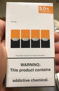 Neue Verpackung Mango kühle Minze pod jull Pod-Patrone kompatibel für Juuls Schoten leer nachfüllbar VGöD stig Kit 8 Farben mit log
