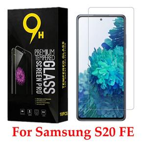 9D vidro completo vidro temperado para Samsung Galaxy S20 Fe 5G protetor de tela com caixa de papel