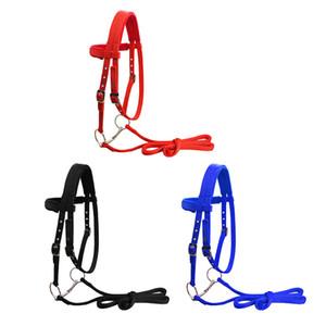 Bridle Rein Halter Épaissie Halter Equipes Accessoires Équipement d'équitation de nylon de nylon amovible