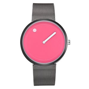 Reloj al por mayor 30 unids Color mixto Moda 40mm x 8 mm 52g Cuarzo Ladies Watch Studs's Children's Children's Estudiantes Relojes Relojes de pulsera casual CH071