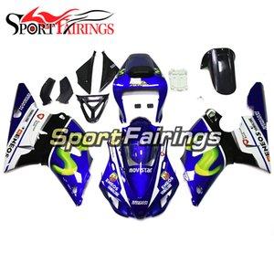 Moto ABS Bodywork per Yamaha YZF1000 R1 1998 1999 YZF 1000 98 99 Kit carens a iniezione completa Kit blu nero